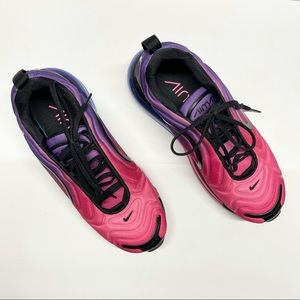 Nike Air Max 720 Sunset Hyper Grape Black Hyper Pink Purple Women's